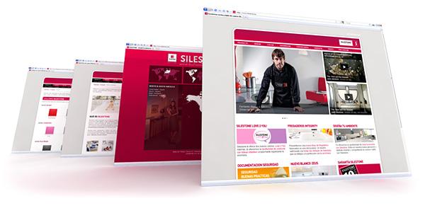 Silestone.es la web util.